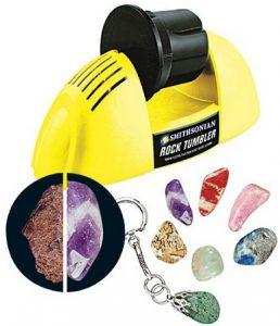 Smithsonian Kids Rock Polishing Kit and Tumbler