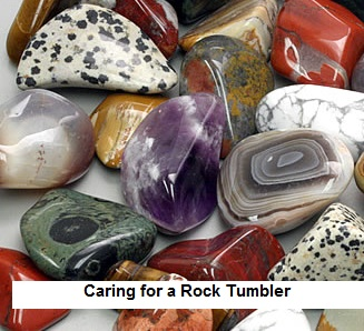 Caring for a Rock Tumbler To Make it Last Longer